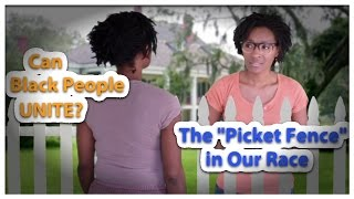 Can Black People Unite? – The Picket Fence in Our Race