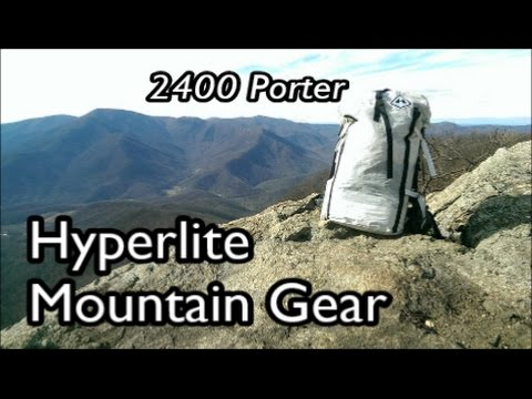 Hyperlite Mountain Gear 2400 Porter Backpack Review : Lightweight Backpacking Gear
