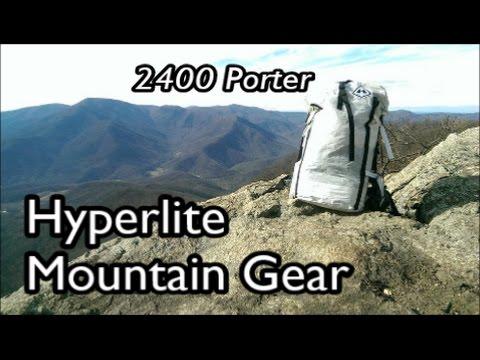 Hyperlite Mountain Gear 2400 Porter Backpack Review : Lightweight Backpacking Gear