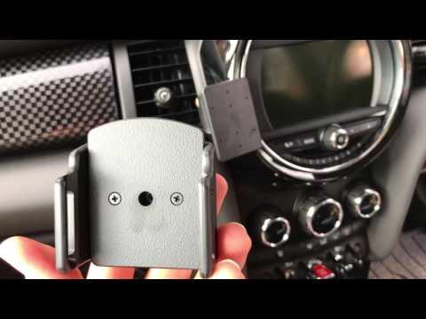Brodit ProClip UK Mini 2014-2017 Item: 655010 and iPhone 6, 6S, 7 Holder Item: 511666