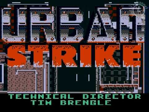 Urban Strike Game Gear