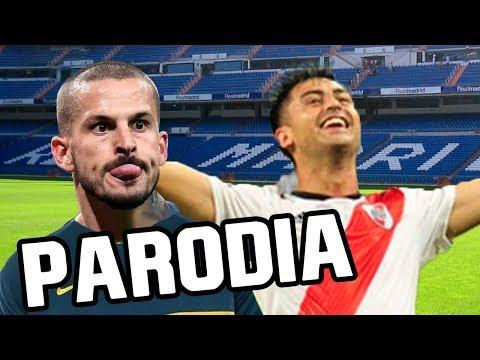 Canción River vs Boca 3-1 (Parodia Anuel AA - Ella Quiere Beber (Remix) ft. Romeo Santos)