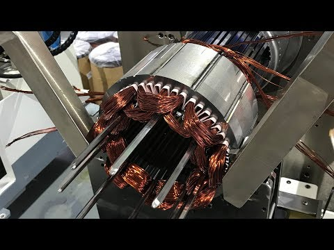 How Electric Motor Are Manufactured in China -New Technology