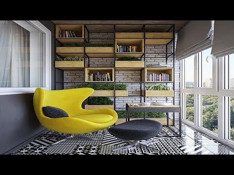 Необычные Идеи Оформления Балкона в Стиле Лофт