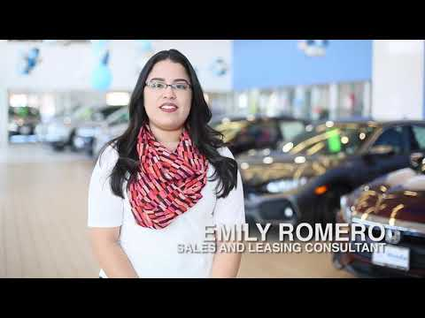 Sales and Leasing Consultant Emily Romero