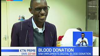 Kenyatta national hospital implements digital blood donation to cab blood shortage in the country