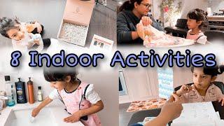 INDOOR Toddler Play & Activity Ideas (2-4 Years Old) // Gautam Pragya