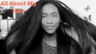 All About My Hair | Tools, Products & Hair Care Routine