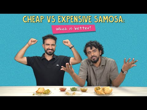 Cheap Vs Expensive Samosa: Which Is Better?   Ft. Pavitra & Akshay   Ok Tested