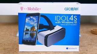 Alcatel Idol 4S with Windows 10 Unboxing and First Impressions