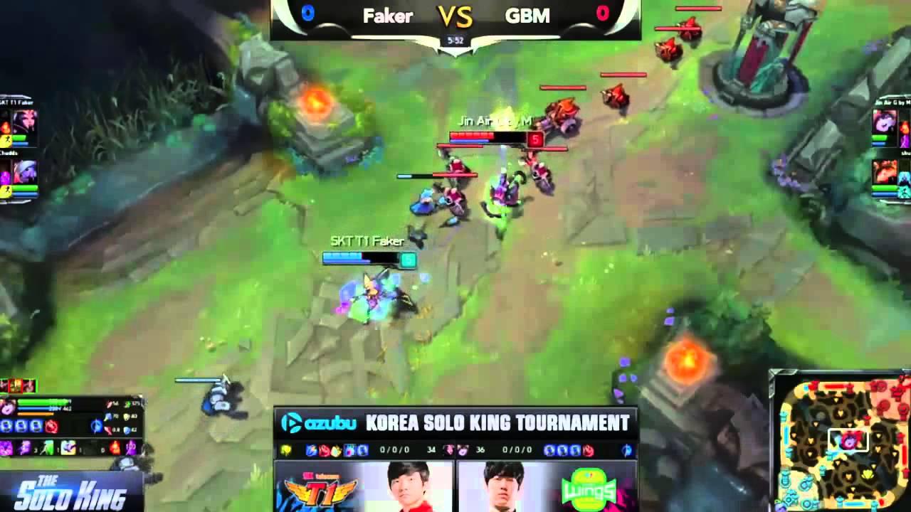 LMHT: Faker thất thủ tại The Solo King 1v1 Hàn Quốc – Game 1