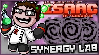 The Binding of Isaac: Afterbirth+ - Synergy Lab: ULTIMATE VOID, ABSORB EVERY ITEM!