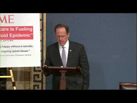 Sen. Toomey Address Heroin Epidemic on Senate Floor