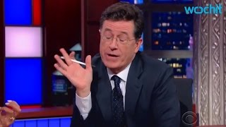 "Colbert gives Gingrich ""THE TALK"" (about sexual assault)"