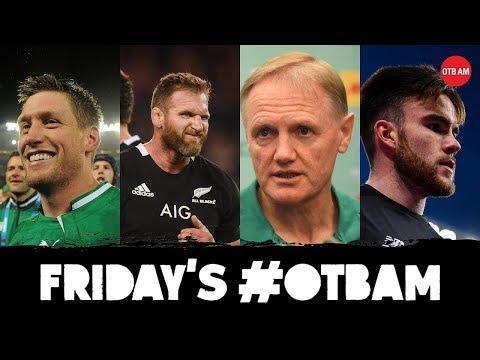 LIVE: OTB AM   Ireland vs All Blacks, ROG, Sexton, Man Utd vs Liverpool, Kevin Kilbane, PL preview  