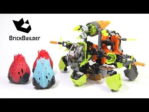 Vidéo LEGO Hero Factory 44027 : Breez et sa machine de guerre
