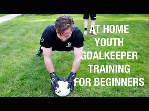 At Home Youth Goalkeeper Training for Beginners