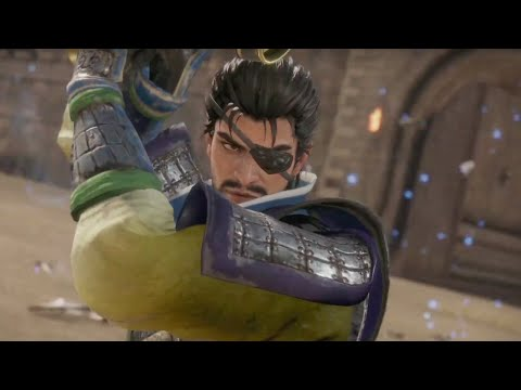 Dynasty Warriors 9 Official Xiahou Dun Character Highlight Trailer