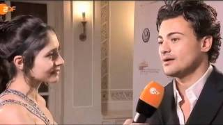 2011 Echo Awards interview backstage with Vittorio