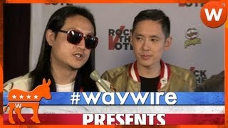 Far East Movement, Far East Movement Rocks the Vote #waywire
