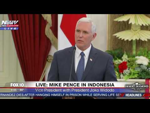 WATCH: Mike Pence Speaking In Indonesia (FNN)