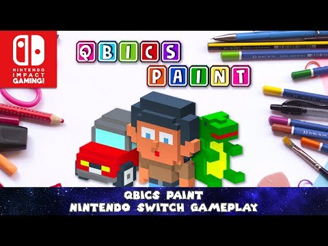 Qbics Paint Nintendo Switch Gameplay thumbnail