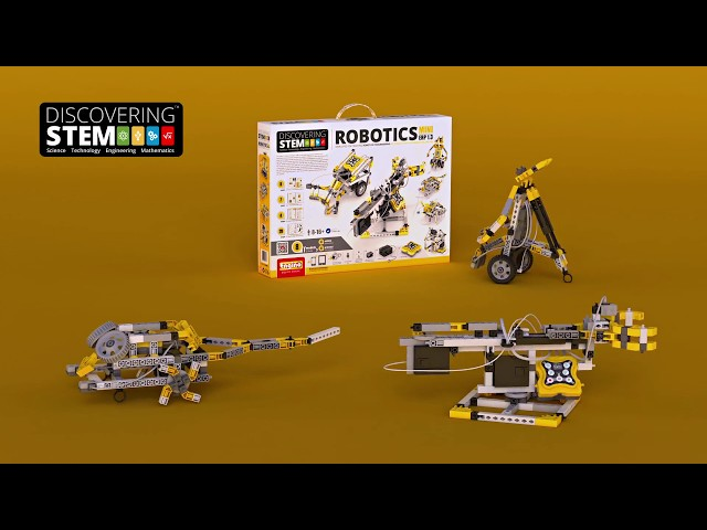 Конструктор ROBOTICS 6 в 1  – Робототехника