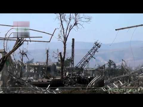 Сирия! Повреждение и эвакуация сирийской БМП