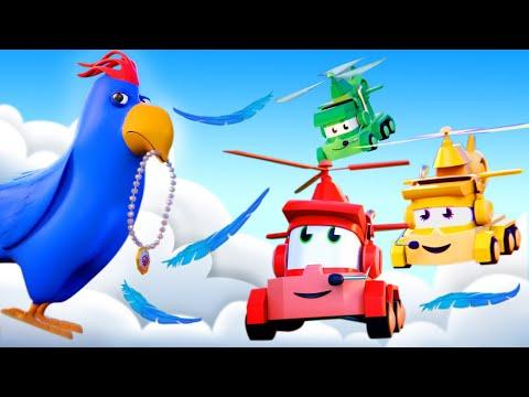 最好看的儿童汽车卡通片 - 宝藏小偷 - 卡车闯天下 Truck Games