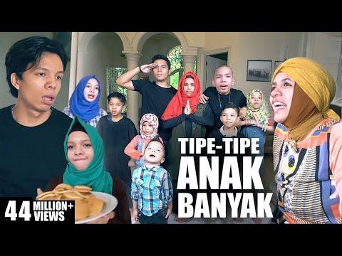 Video TIPE-TIPE RUSUH ANAK BANYAK - 11 BERSAUDARA GEN HALILINTAR