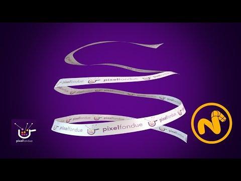 Animate a Fluttering Ribbon in Modo