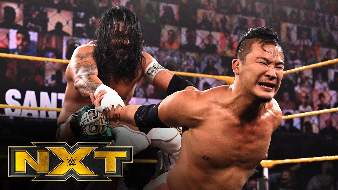 NXT Cruiserweight Champion Kushida Retains Over Santos Escobar In 2/3 Falls Match On NXT