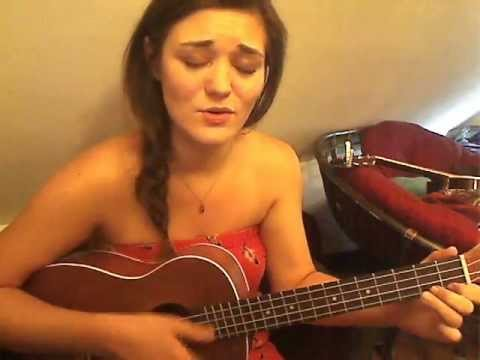 Wonderful World - Eva Walsh (Baritone Ukulele & Voice Cover)