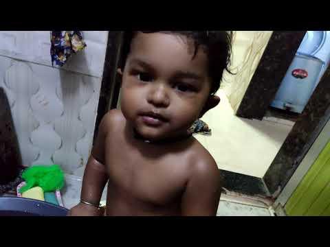 Baby bath, Baby massage Indian style, malish, baby malish,baby bathing, newborn baby bathing,