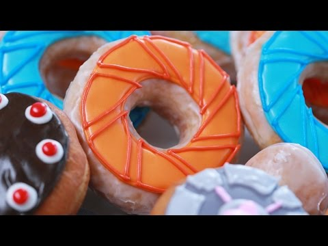 HOW TO MAKE PORTAL DONUTS – NERDY NUMMIES