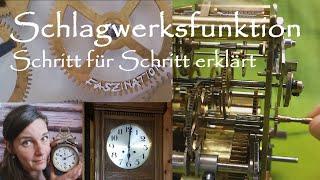 So funktioniert das Schlagwerk einer mechanischen Uhr! Schlag/Gong/Funktionsweise/Funktion/chime
