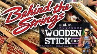 The Wooden Lacrosse Stick Expo with Stylin Strings Lacrosse