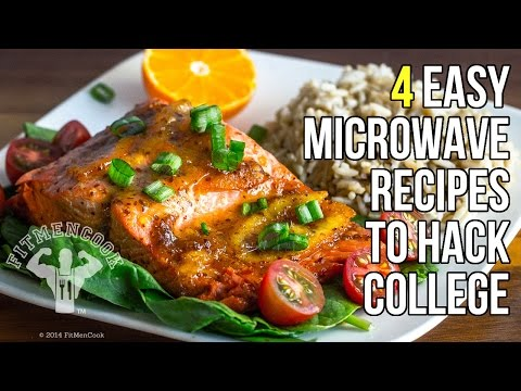 Video 4 Microwave Recipes to Hack College Life / 4 Recetas Hechas en el Microondas