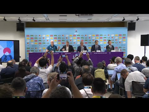 Press Conference: Rugby World Cup 2019 update