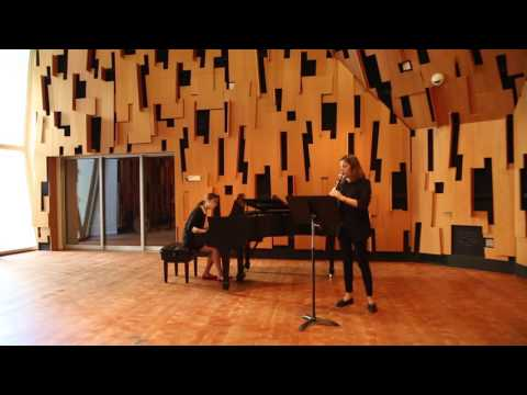 Claire - Brahms First Sonata (first movement) - UCLA (november 2016)