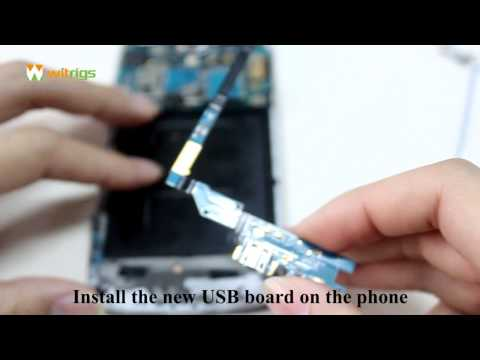 it is fairly easy to solve galaxy s4 charging port problem