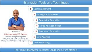 Estimation Tools and Techniques in Project management
