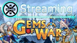 🔥 Gems of War Stream: Gnome Event Farming while Knight Leveling 🔥