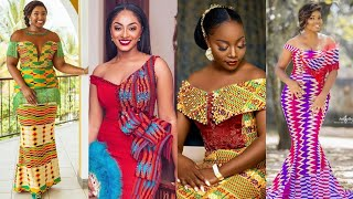 2019#Ghana Wedding Dresses# Kente Ankara Trendy Styles: African Fashion