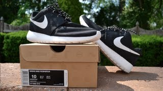 Nike Roshe Run | Women's Black / White [Review & On Feet]
