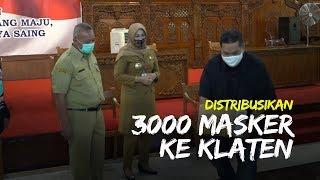 Tribunnews Bersama Cardinal Salurkan 3.000 Masker di Klaten, Bupati Sri Mulyani, Ini Ibadah Sosial