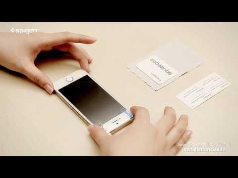 Μεμβράνη οθόνης iPhone 5/5s/5c - SGP Steinheil Oleophobic SGP08198 - 2 τεμ