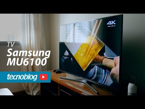 TV 4K Samsung MU6100 - Review Tecnoblog