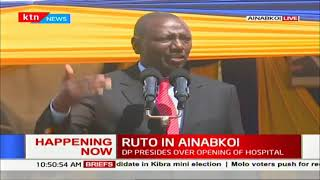 DP Ruto assures disable people of the hospital insurance fund