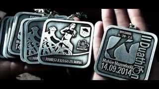 preview picture of video 'II Duathlon Makowski pamięci Jerzego Zelmana 14.09.2014 Maków Mazowiecki'